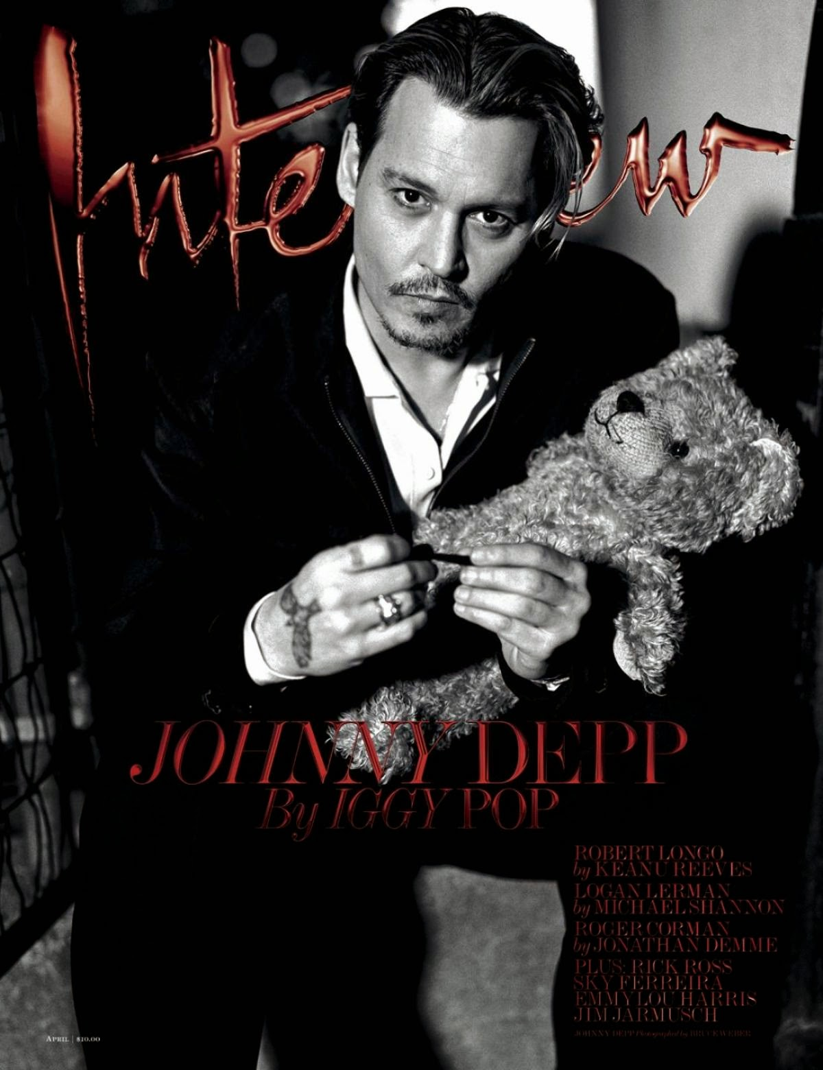 Johnny Depp by Bruce Weber