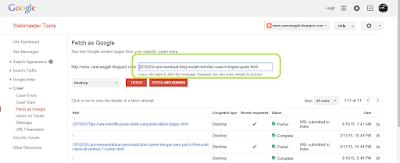 cara submit artikel ke google dengan mudah agar cepat terindek google