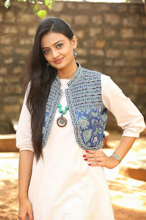 Actress Nikitha Narayan Latest Pictures at Ladies and Gentlemen Platinum Disc Function 38.JPG