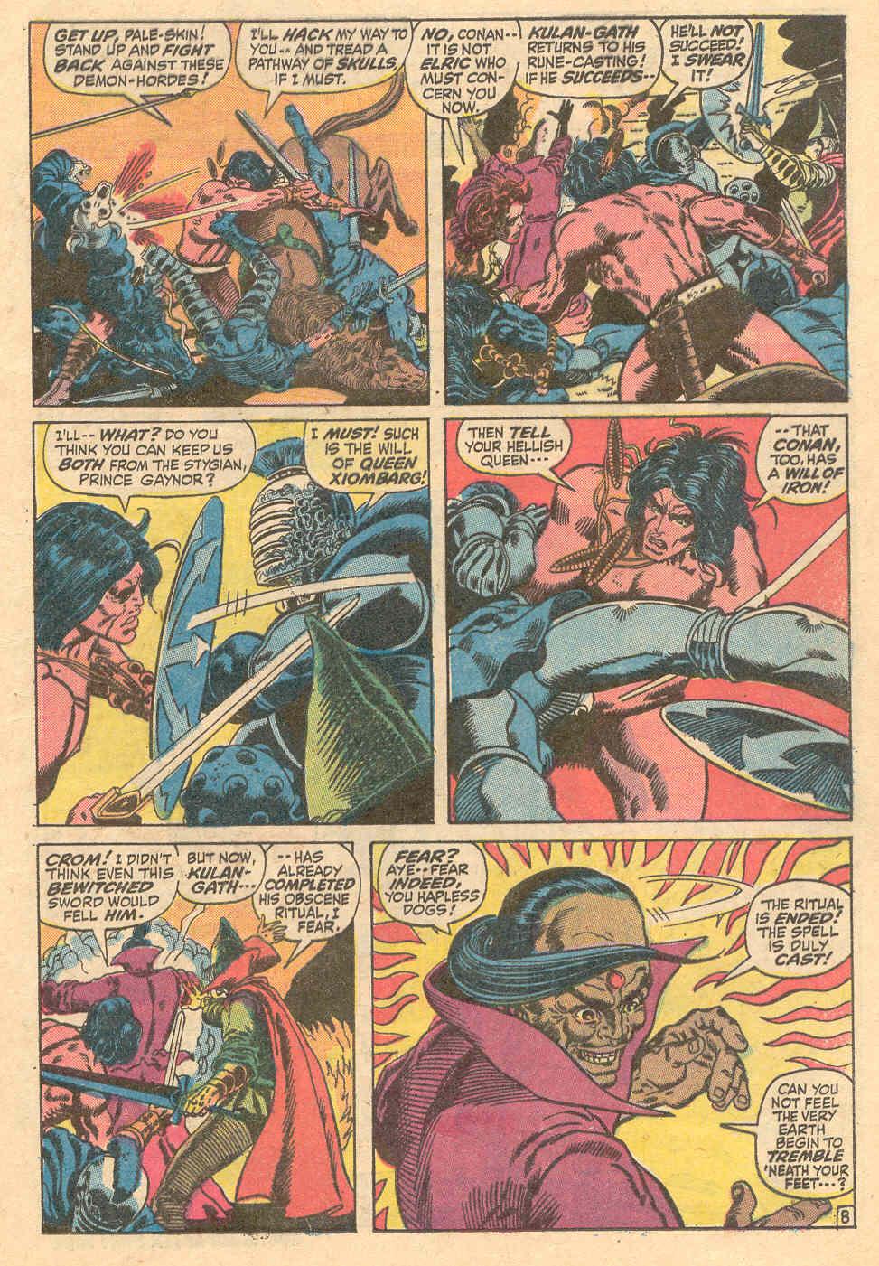 Conan the Barbarian (1970) Issue #15 #27 - English 9