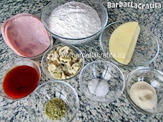 Pizza calzone ingrediente reteta