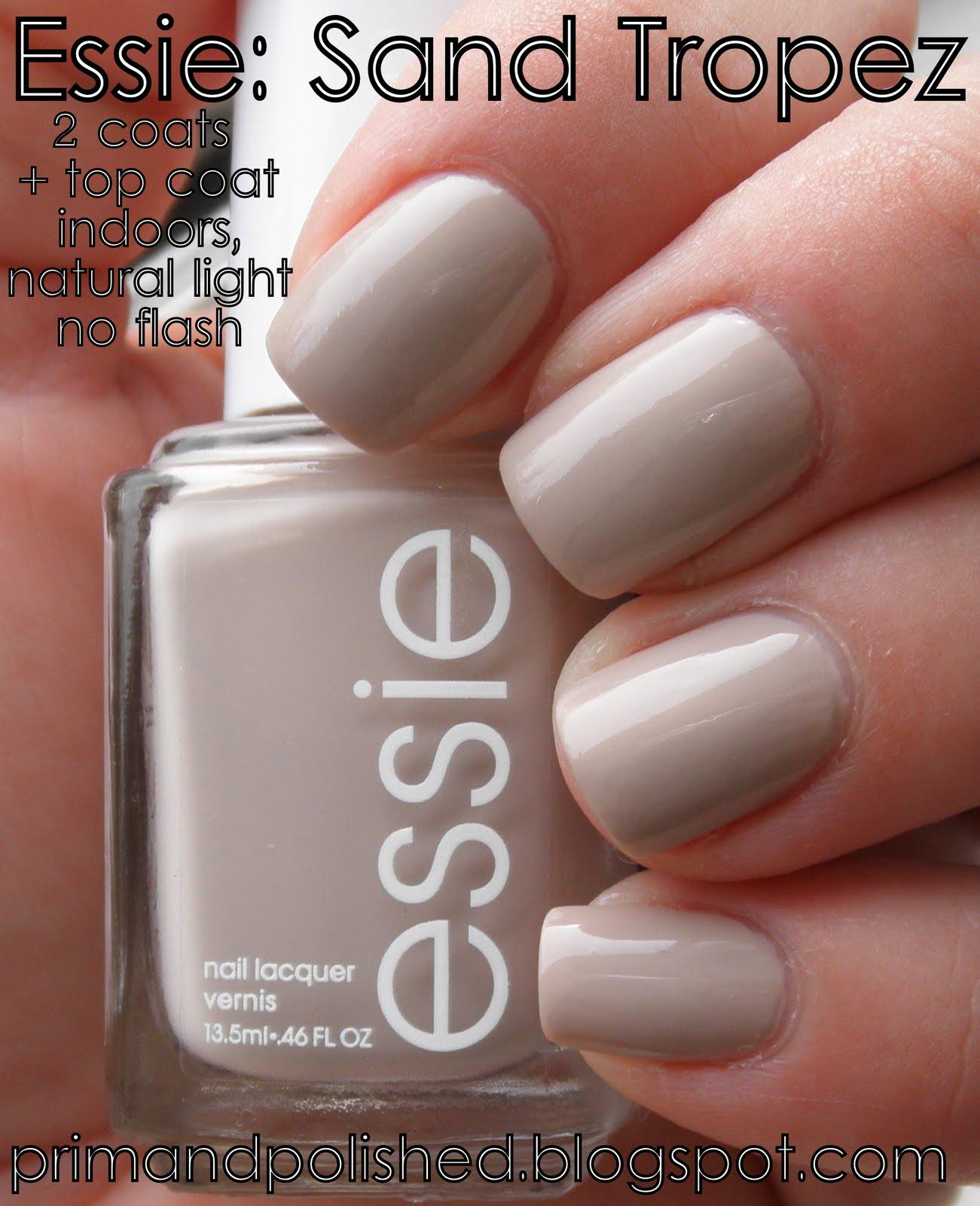 Essie: Sand Tropez   P...