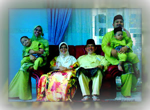 Abah..mama n Taj's family