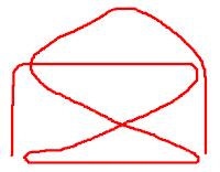 нарисовать фигуру не отрывая карандаша от бумаги