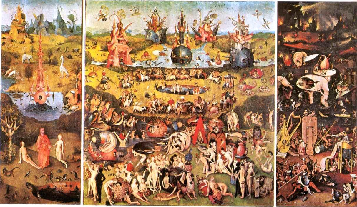 Arte torreherberos el bosco y los misterios de su pintura for Jardin de las delicias zamora