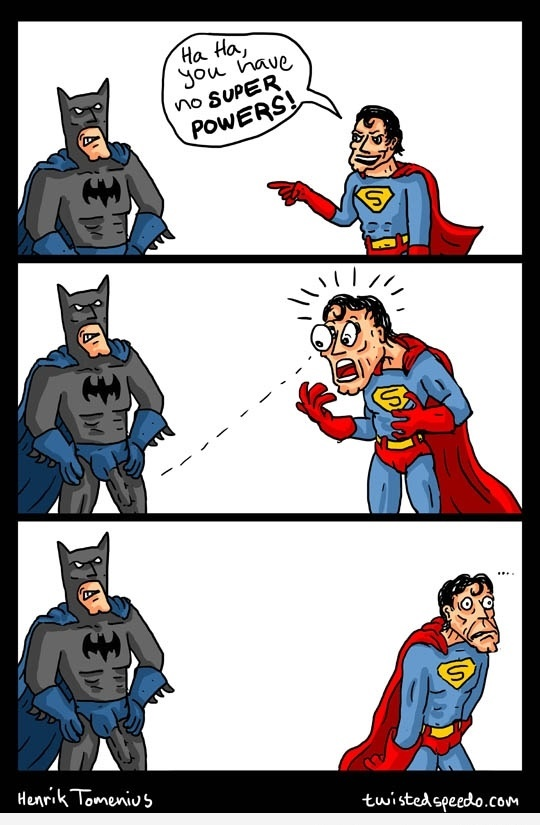 Batman is the Man funny pic