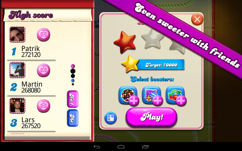Candy Crush Saga Ekran Görüntüleri