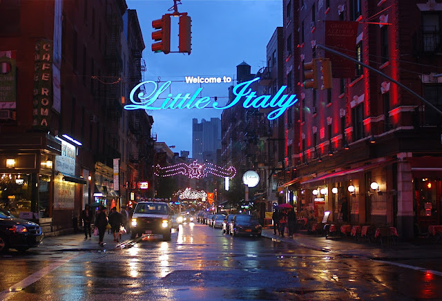 NYC ♥ NYC: One Rainy Night In Manhattan's Little Italy