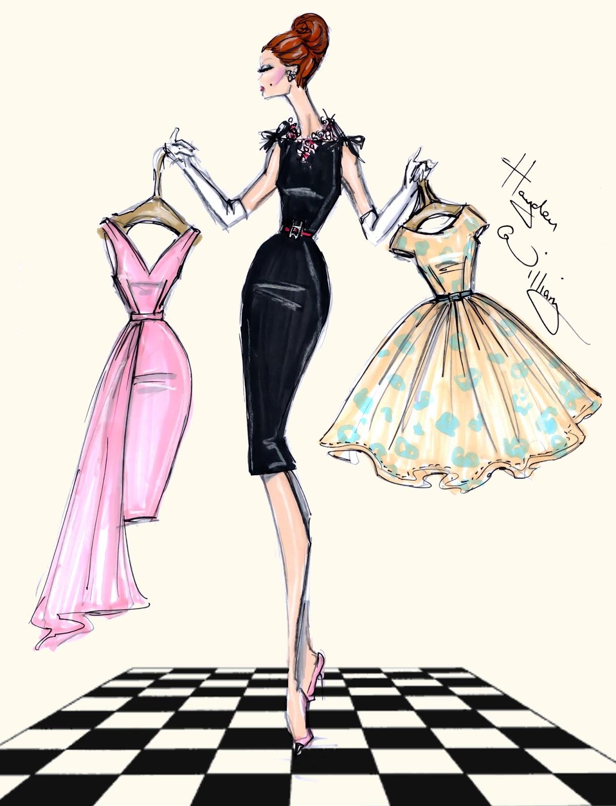 Dress Designs Drawings 2013 Hayden Williams Fashio...