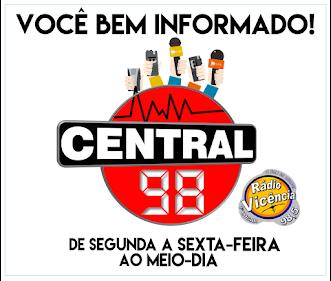 CENTRAL 98 NA VICÊNCIA FM