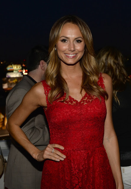 Stacy Keibler was Glamorous in Soffer Ari at the Elizabeth and James Fall 2013 Handbag Collection Launch