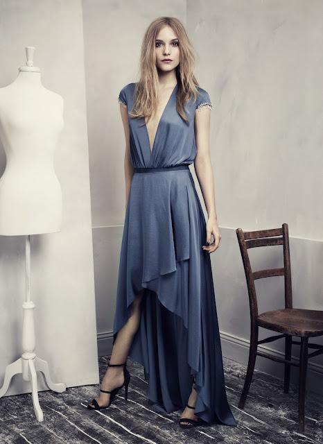 Fashion Junkies loves H&M Conscious Exclusive low cut dress