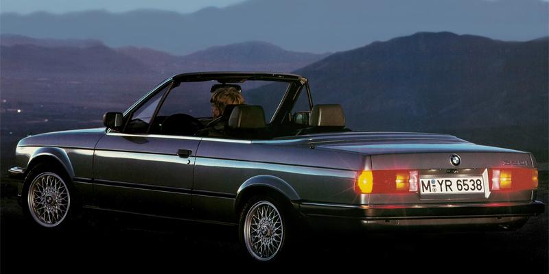 Florilège de E30 CAB - Page 3 BMW+3-Series+E30+Cabriolet+rear