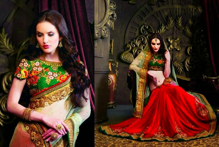 Saheli Couture Indian Bridal Lehenga Collection 2015