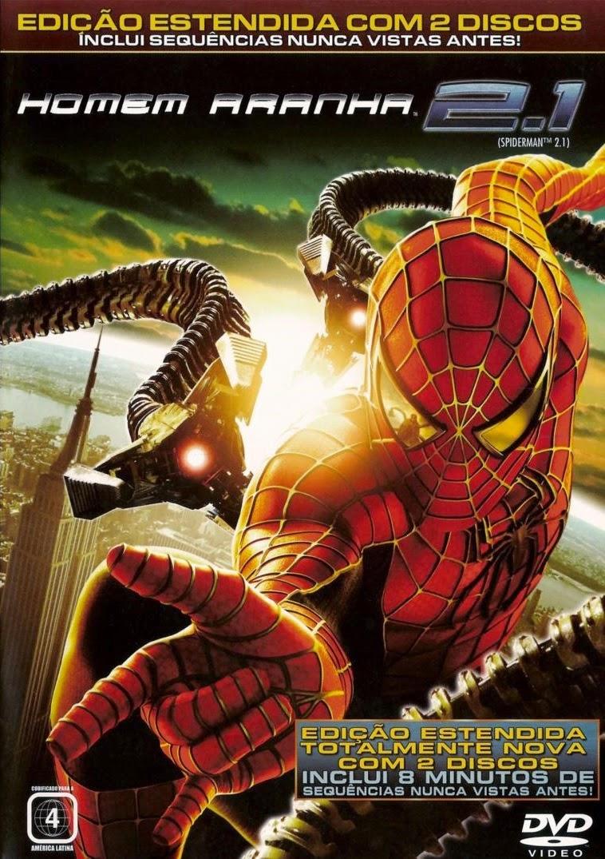 Homem Aranha 2.1 (Versão Estendida) – Dublado (2004)