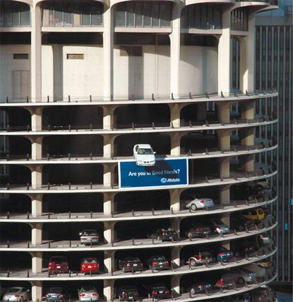 Marina Tower (Iklan Asuransi Mobil Allstate