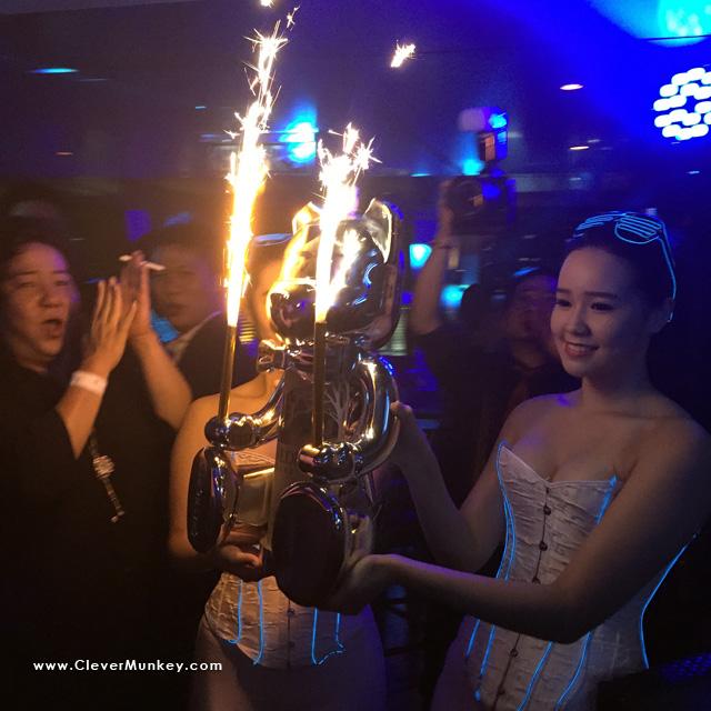 Belvedere Vodka's service ritual