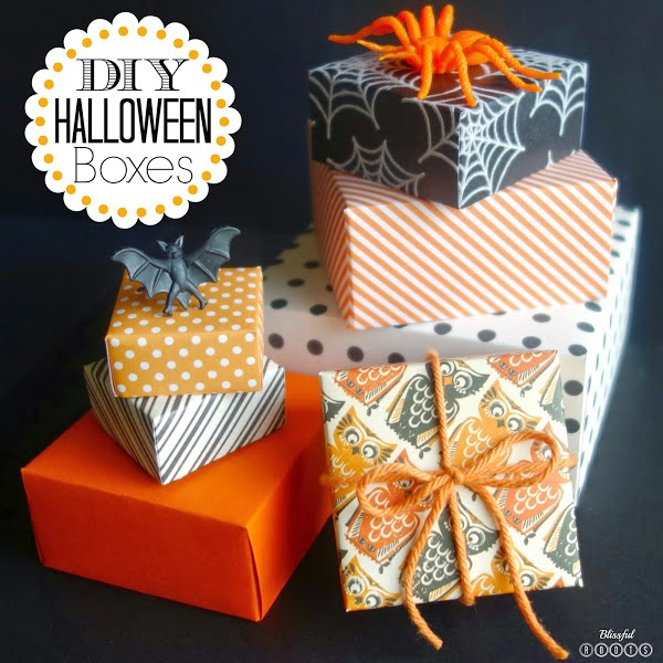 DIY Halloween Boxes