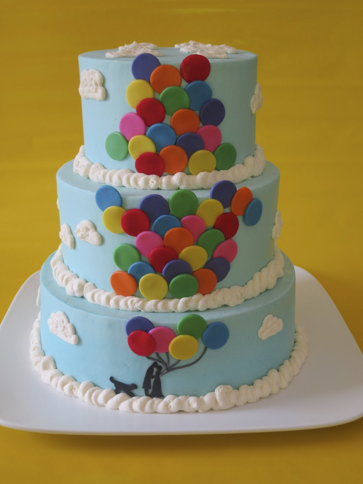 Christina s Kitchen Art: Balloon Wedding Cake