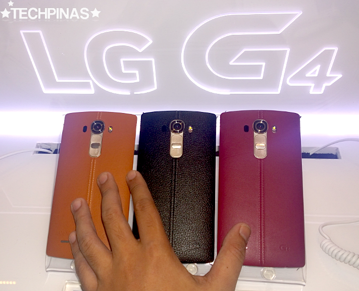 LG G4 Leather Back Covers