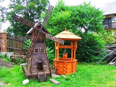 Chiaraoscura - Carriola in legno da giardino ...