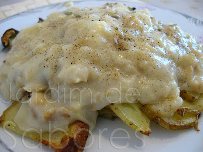 Bechamel de Bacalhau com Batatas, Beringela e Courgette