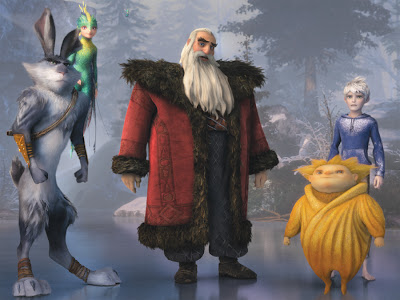 Dreamworks Rise Guardians movie review Santa Frost animated