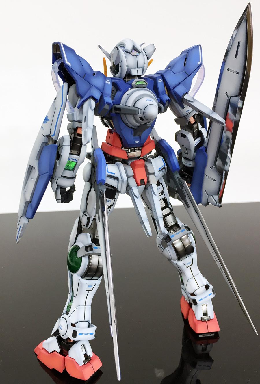 MG 1/100 Gundam Exia - Customized Build