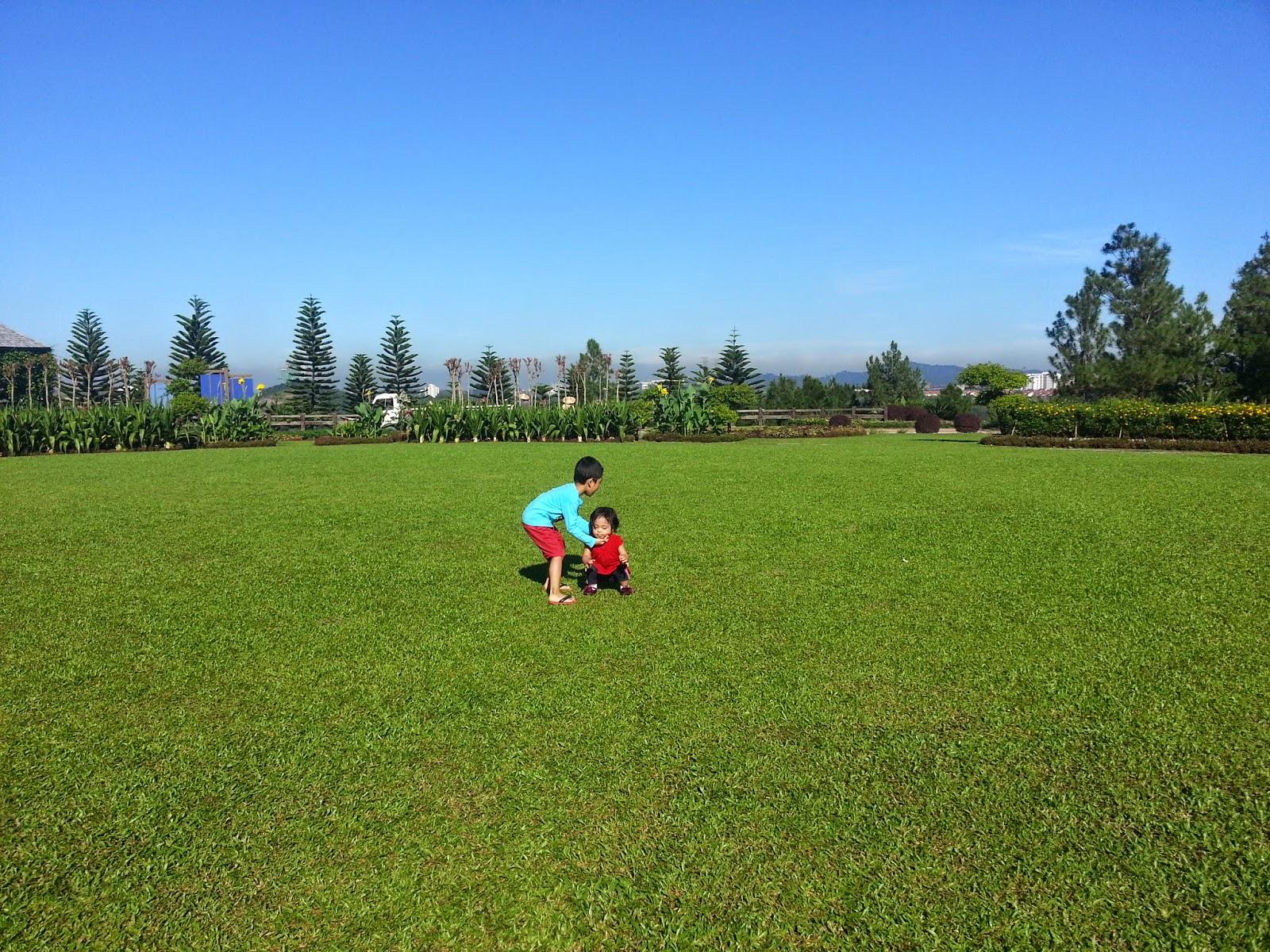 masyimalo heart riadah di taman saujana hijau yg indah