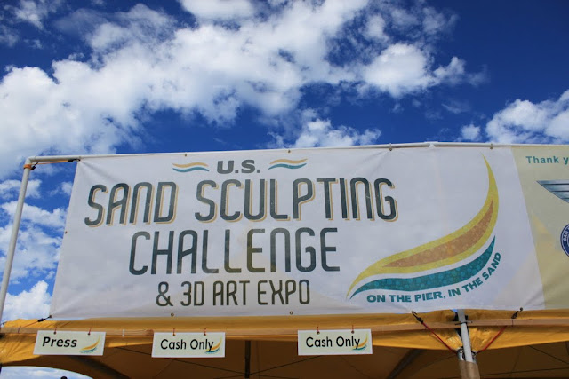 Sand Sculpting Challenge 2012 in San Diego, California, USA