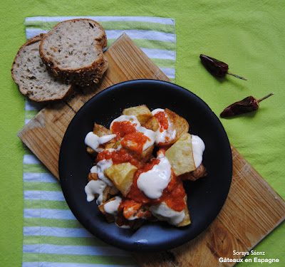 patatas bravas tapas espagnol recette facile cuisine rapide