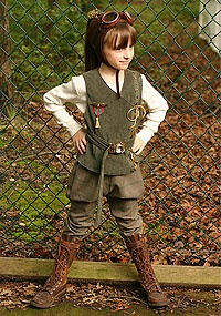 steampunk costume for kids