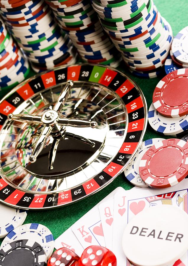 Shopping and gambling addiction
