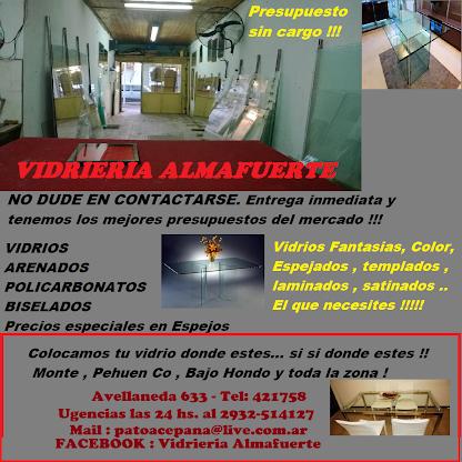"Vidrieria  "" Almafuerte """