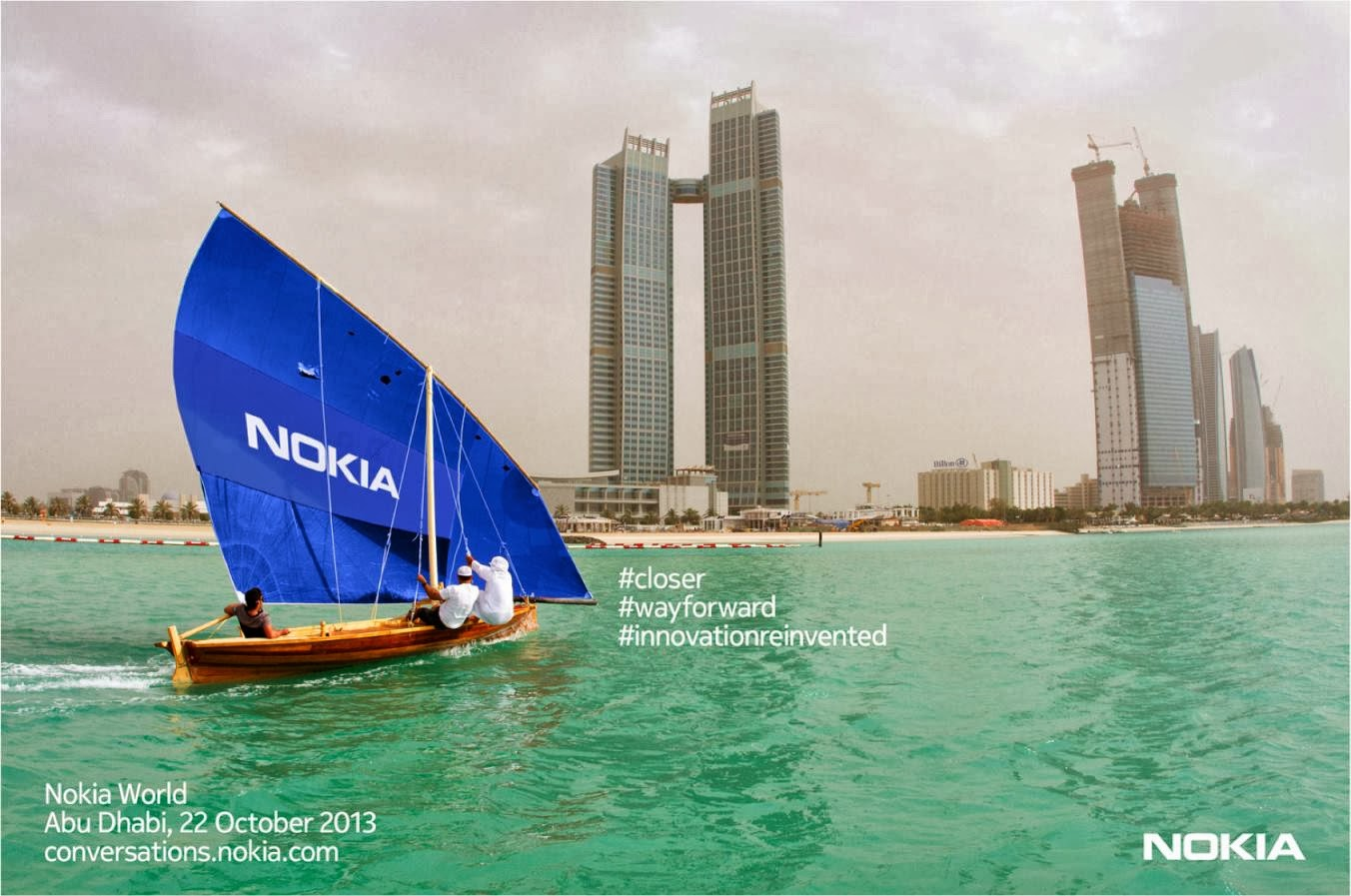 Nokia World 2013 Abu Dhabi