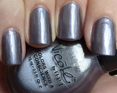 Per Suede Me, Nicole By OPI, swatch