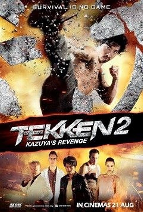 Tekken Kazuyas Revenge (2014) DVDRip 375MB