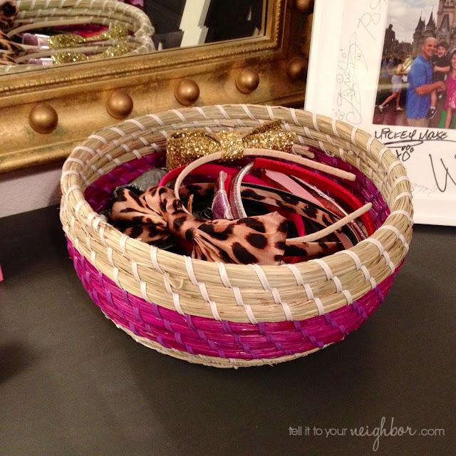 the headband bowl, headband holder
