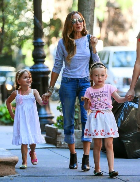 Sarah Jessica Parker and Twins Back to School