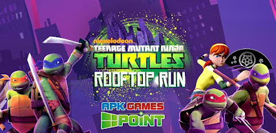 Teenage mutant ninja turtles ROOFTOP RUN For android Mobiles and tabs