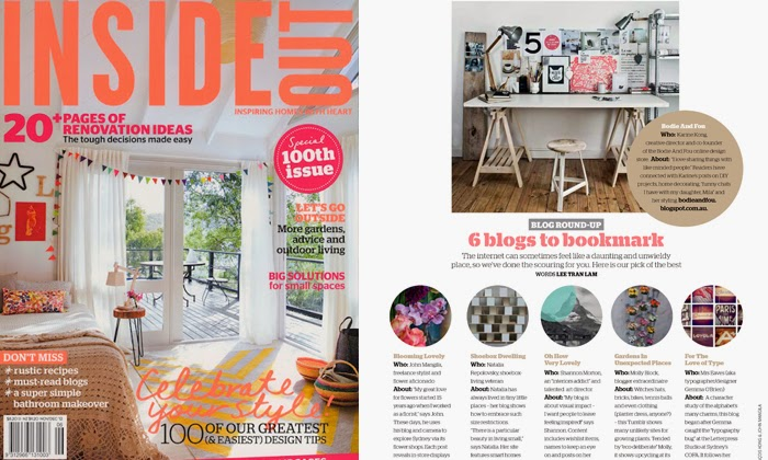 BODIE and FOU Blog to watch in INSIDE OUT magazine