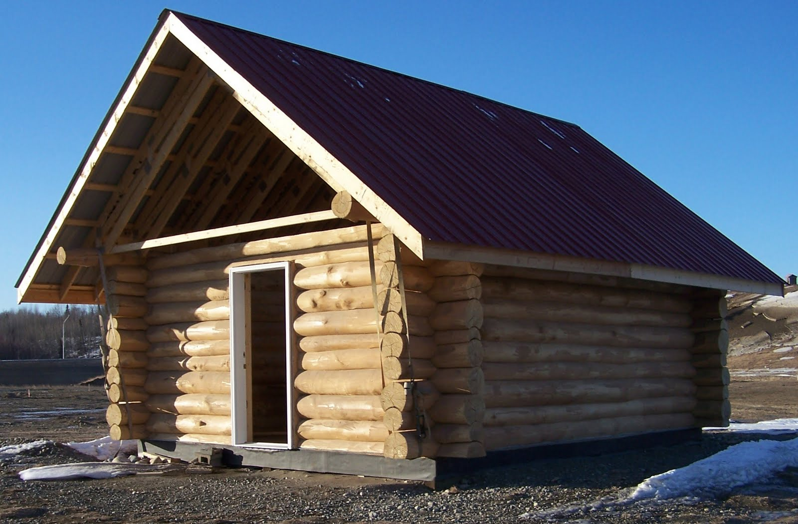 Instant get build a 16x20 cabin foreman shed for Log construction
