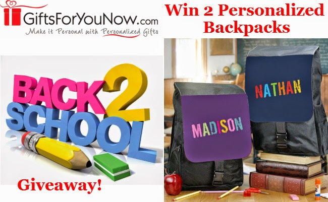 Enter the GiftsForYouNow Back To School Giveaway. Ends 8/30
