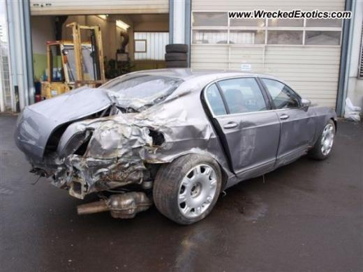Bentley Continental Flying Spur Crashed In Germany Carsfresh