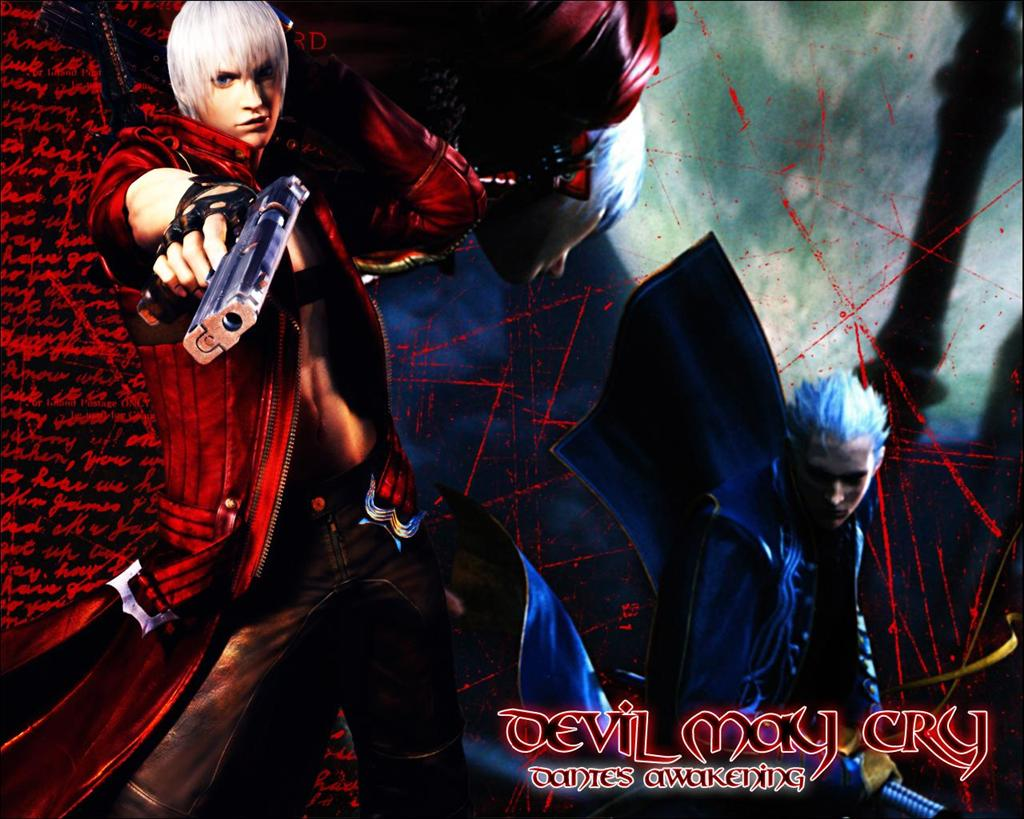 Devil May Cry HD & Widescreen Wallpaper 0.710161894038462