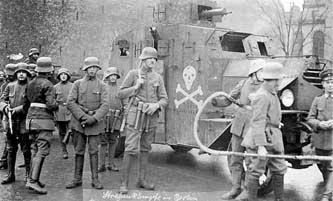 Pasukan Freikorps  vs  Republik Soviet Bavaria 1919