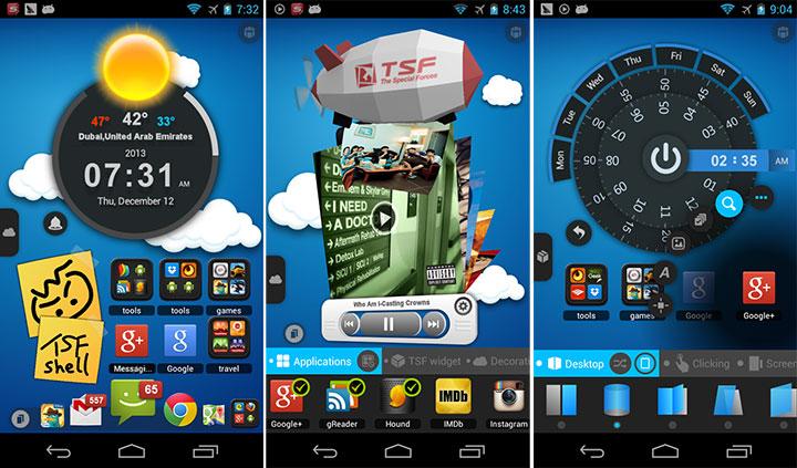 Hasil gambar untuk TSF Launcher 3D Shell