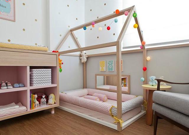 Cama casinha  - 30 Inspirações para decoração de quarto infanti