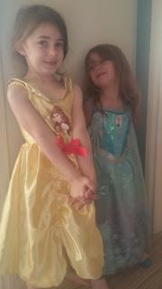 Belle and Elsa