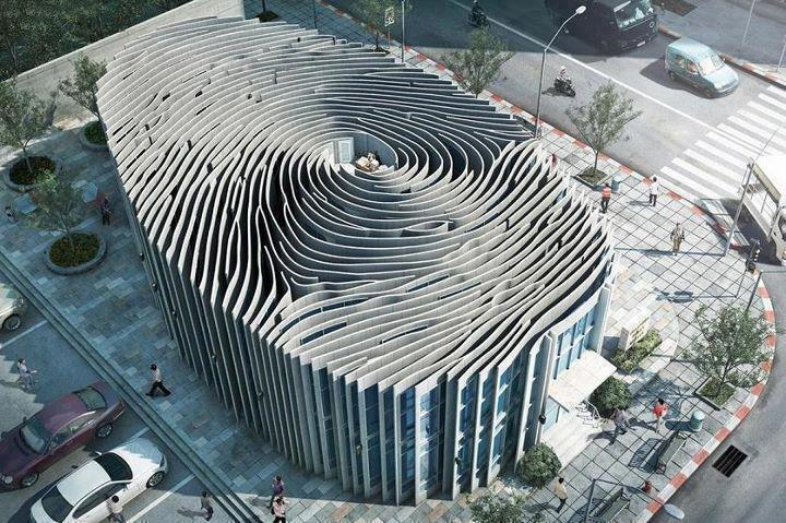 Best Buildings And Beautiful Places Of The World Fingerprint Building Thailand